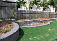 Betascapes - Garden Retaining Wall